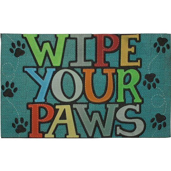 Wipe Paws Stitch Blue